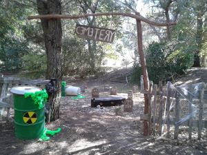 MCARLM Toxic Cemetery in the San Lorenzo Haunted Forest